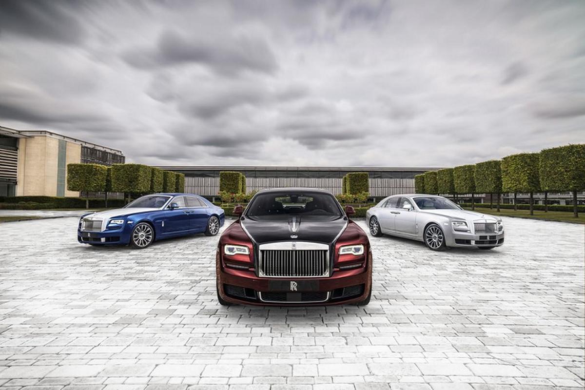 Mau xe nao giup Rolls-Royce dat doanh so ki luc sau 116 nam