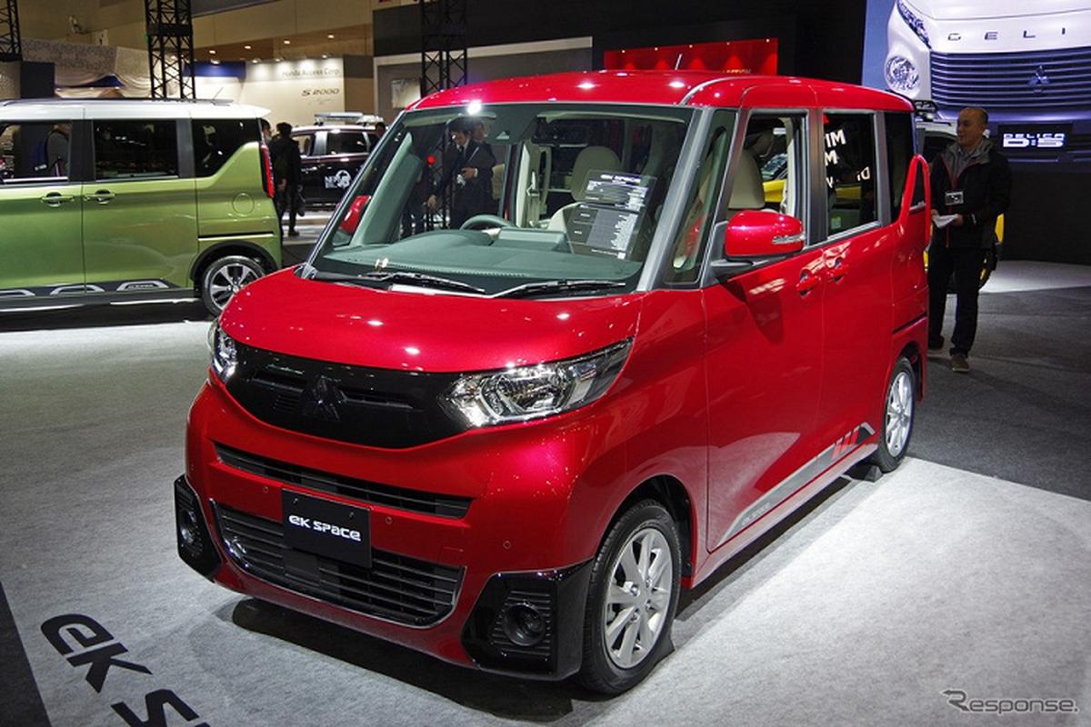 Mitsubishi eK X Space 2020 - kei car gia dinh