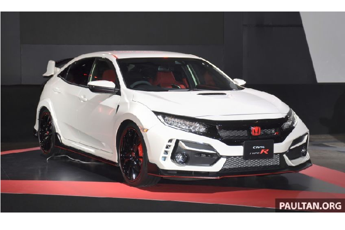 Honda Civic Type R 2020 phien ban nang cap bat ngo trinh lang