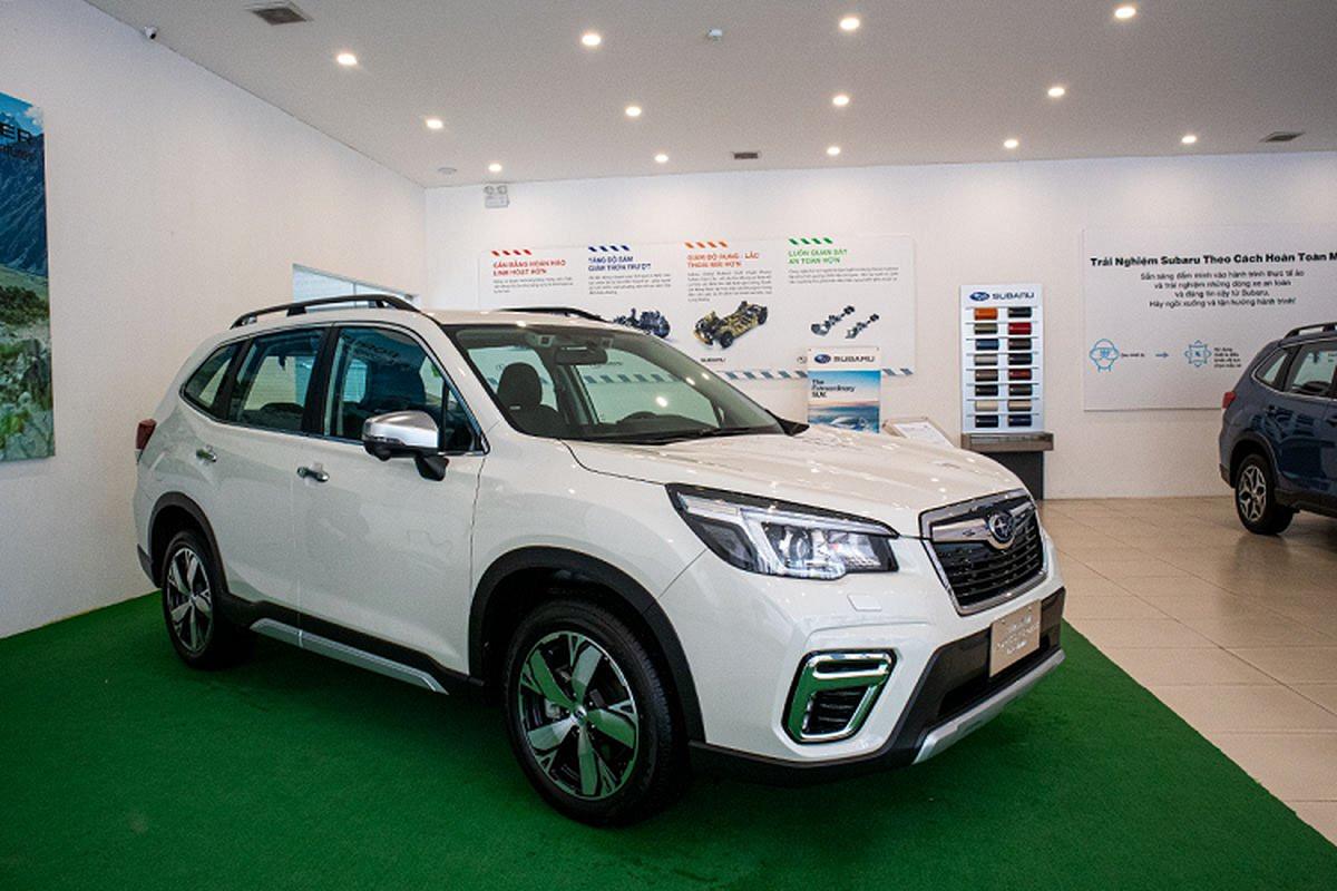 Subaru Forester 2020 tai Viet Nam co gi de dau Honda CR-V?