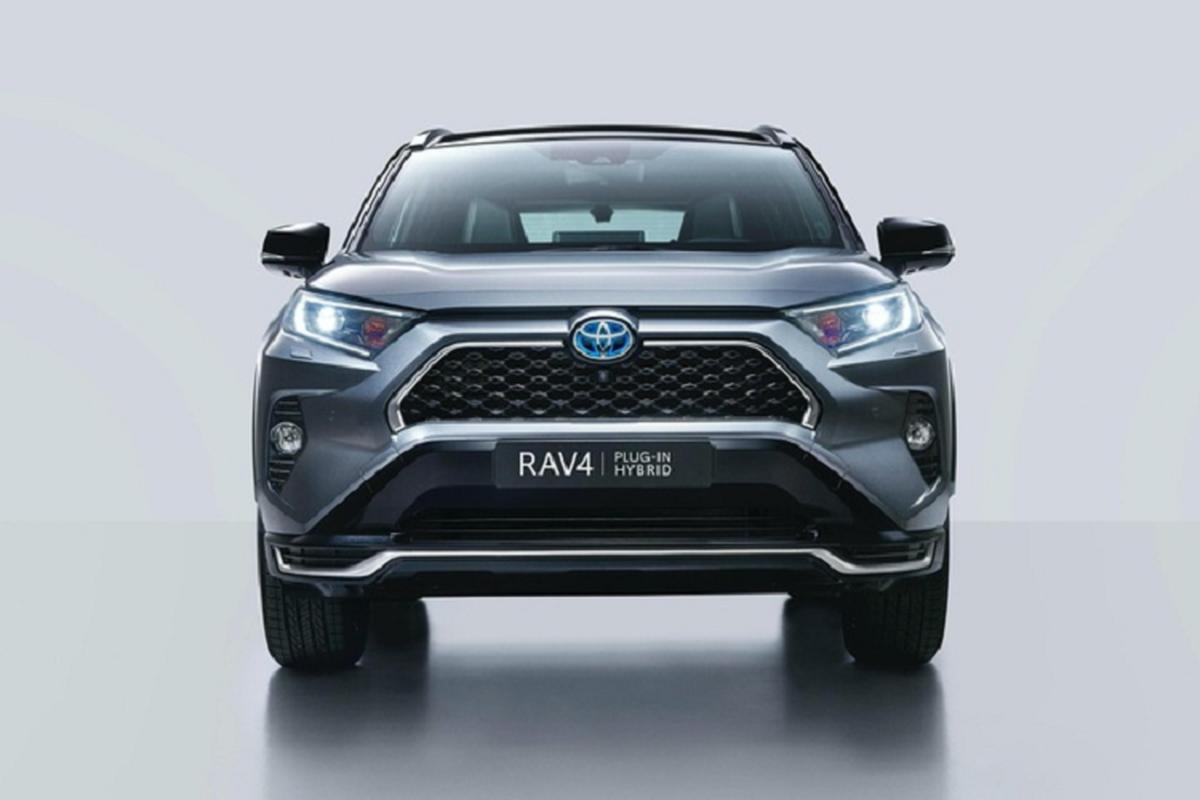 SUV an khach Toyota RAV4 hybrid moi ra mat tai chau Au