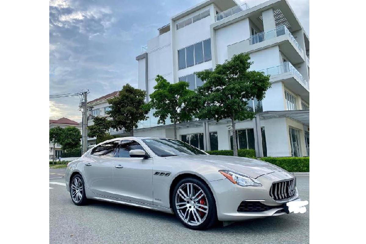 Can Tet, Maserati Quattroporte rao ban lo gan 4 ty o Sai Gon-Hinh-5