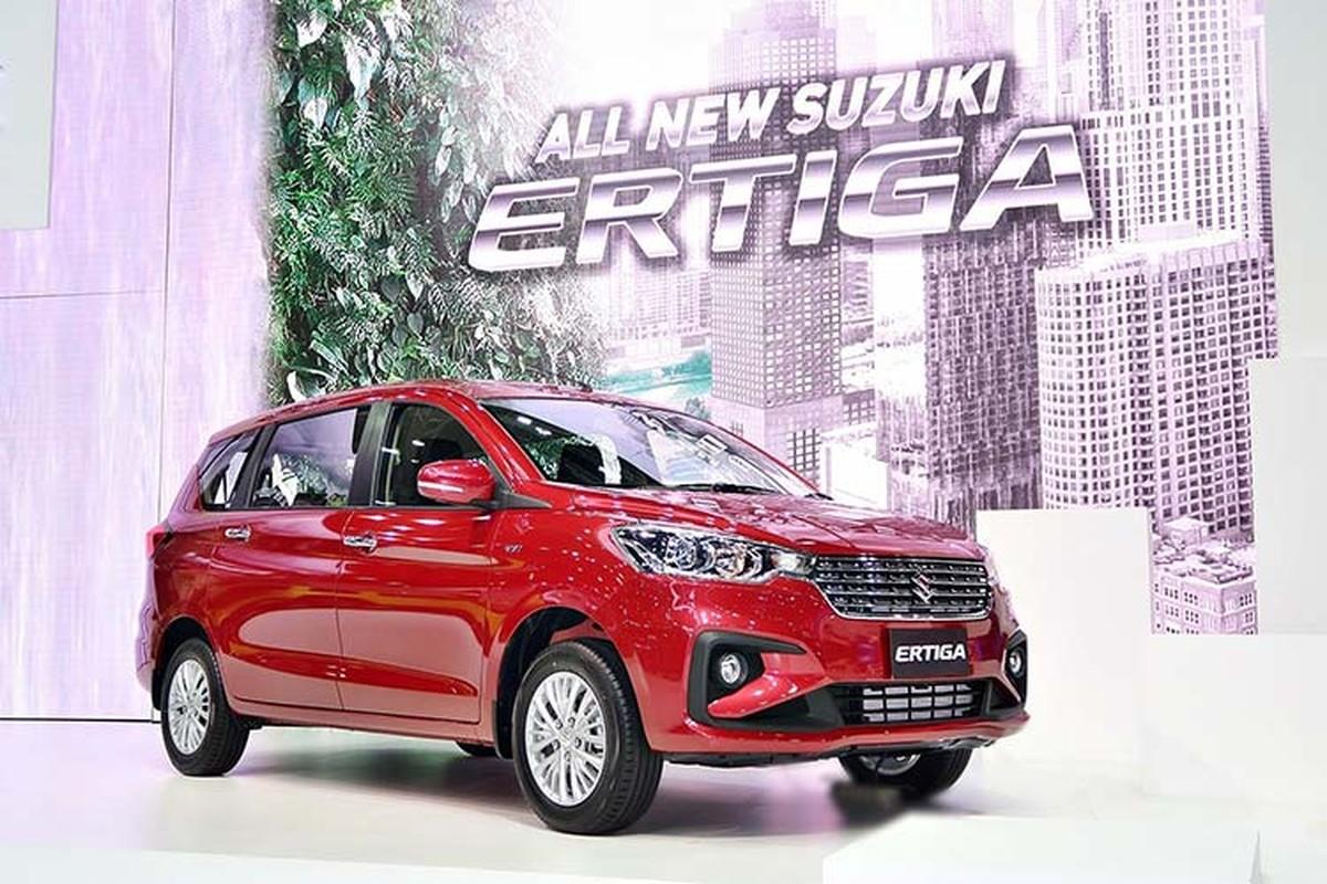 Suzuki Ertiga 2020 sap ve Viet Nam, gia tang 6 trieu dong