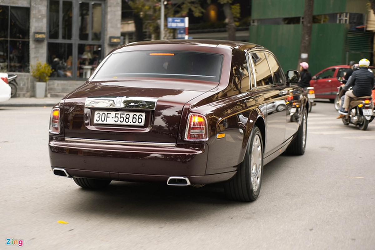 Xe sieu sang Rolls-Royce Phantom xap xi 100 ty o Ha Noi-Hinh-2