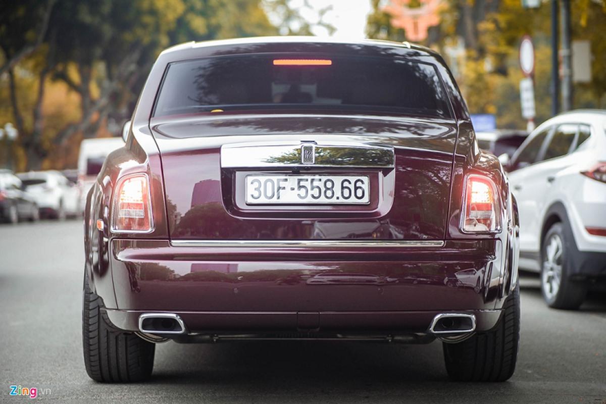 Xe sieu sang Rolls-Royce Phantom xap xi 100 ty o Ha Noi-Hinh-3