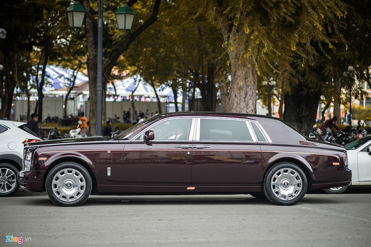 Xe sieu sang Rolls-Royce Phantom xap xi 100 ty o Ha Noi-Hinh-8