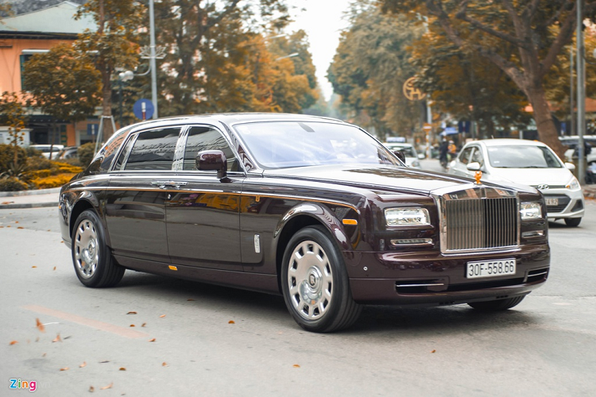 Xe sieu sang Rolls-Royce Phantom xap xi 100 ty o Ha Noi-Hinh-9