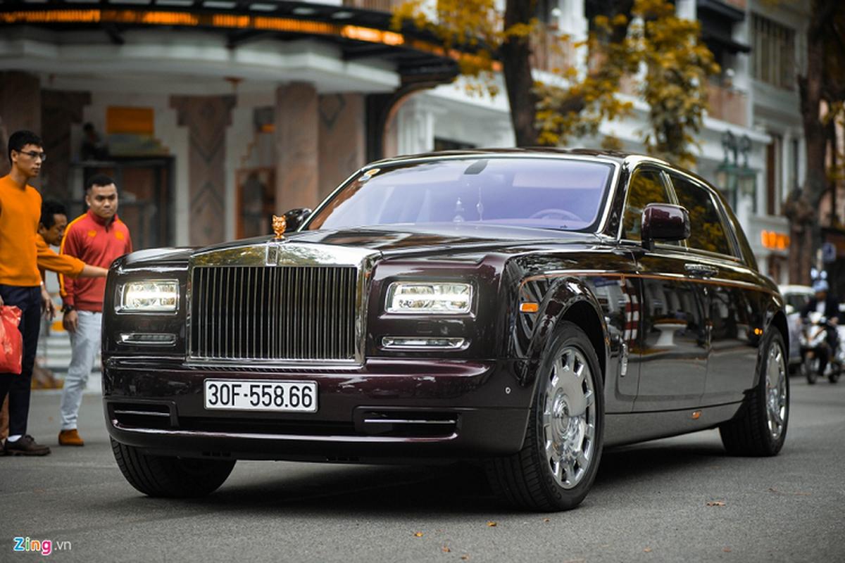 Xe sieu sang Rolls-Royce Phantom xap xi 100 ty o Ha Noi
