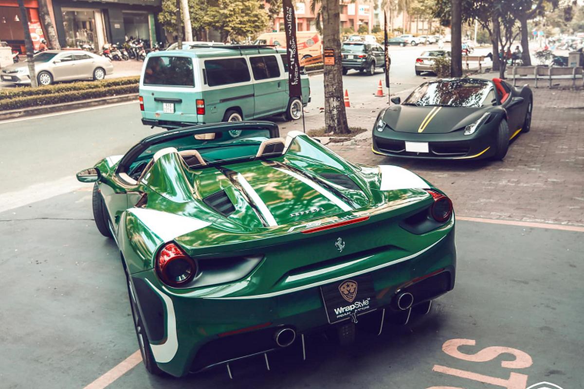 Dai gia Binh Phuoc doi mau sieu xe Ferrari 488 Spider don Tet-Hinh-2