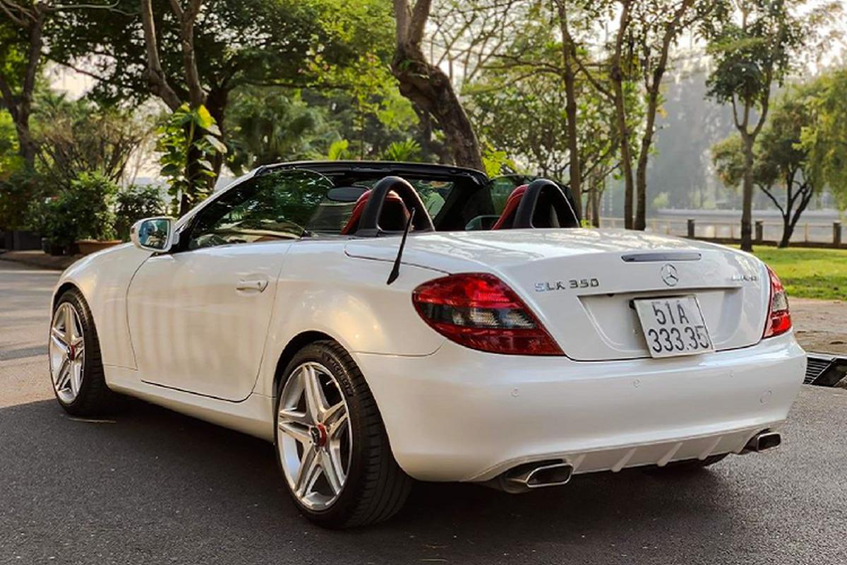 Xe sang Mercedes-Benz SLK 350 mui tran chi 888 trieu o Sai Gon-Hinh-8