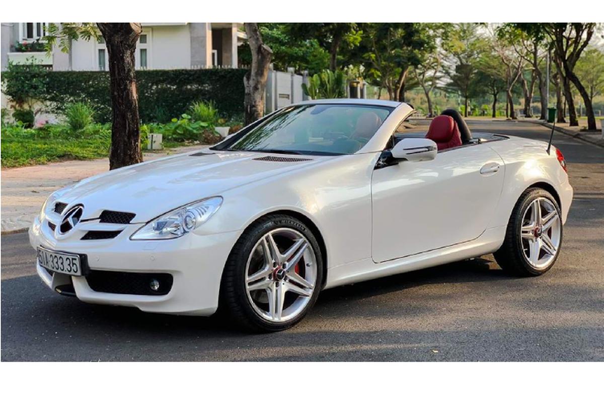 Xe sang Mercedes-Benz SLK 350 mui tran chi 888 trieu o Sai Gon