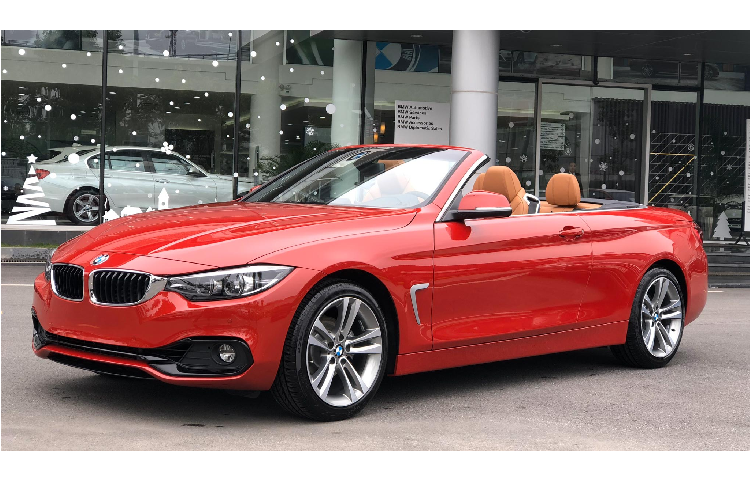 Can canh BMW 420i Convertible duoi 3 ty dong tai Viet Nam