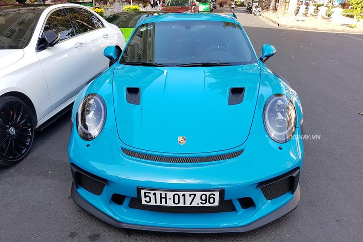 Porsche 911 GT3 RS do dang Lamborghini Huracan o Sai Gon-Hinh-2