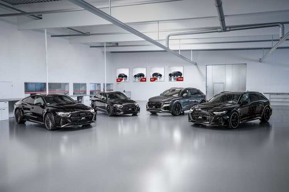 Can canh Audi RS Q8 ABT san sang danh bai Lamborghini Urus