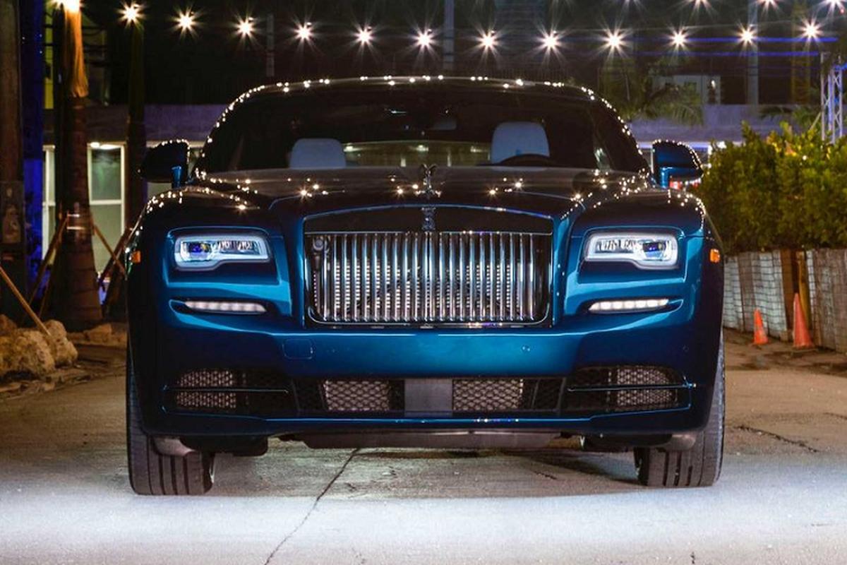 Xe sieu sang Rolls-Royce Wraith Black Badge hut mat tai Miami-Hinh-3