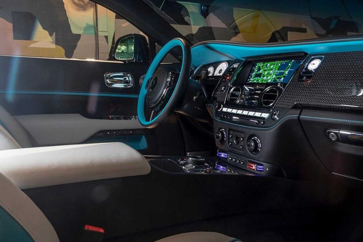 Xe sieu sang Rolls-Royce Wraith Black Badge hut mat tai Miami-Hinh-5