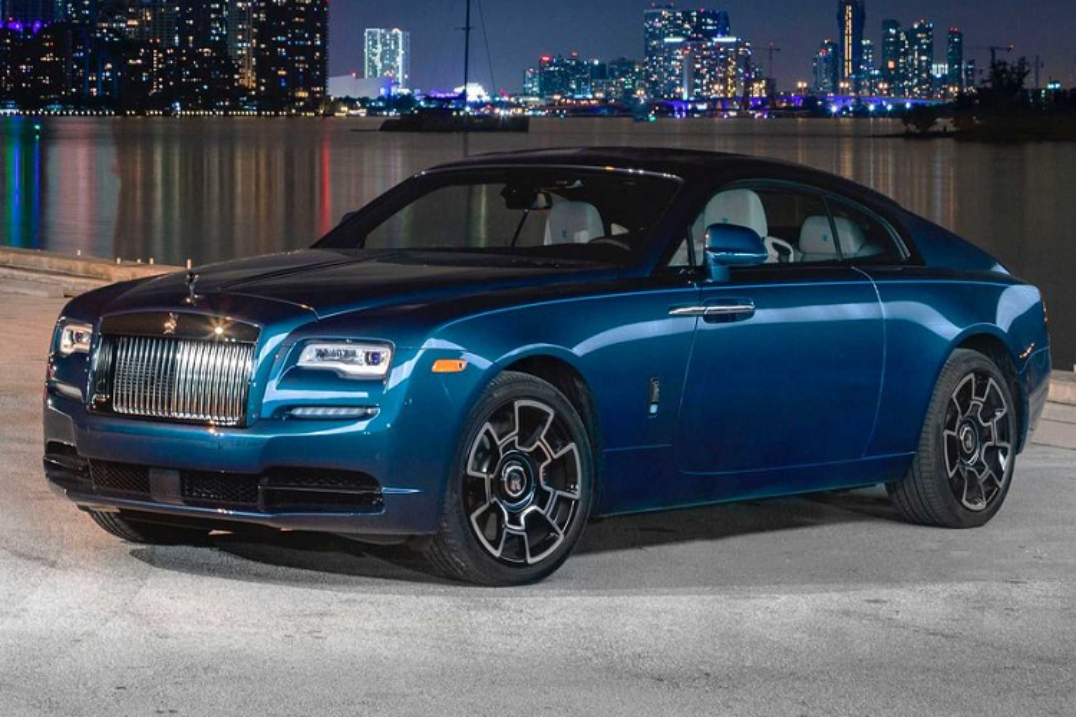 Xe sieu sang Rolls-Royce Wraith Black Badge hut mat tai Miami