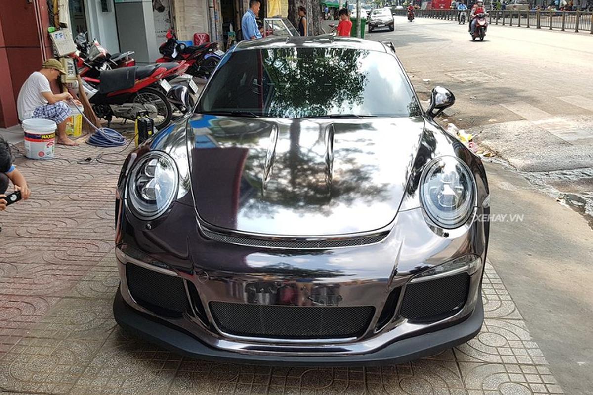 Sieu xe Porsche 911 GT3 RS hon 10 ty tren pho Sai Gon-Hinh-2