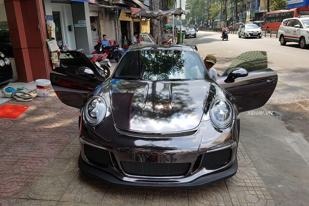 Sieu xe Porsche 911 GT3 RS hon 10 ty tren pho Sai Gon-Hinh-4