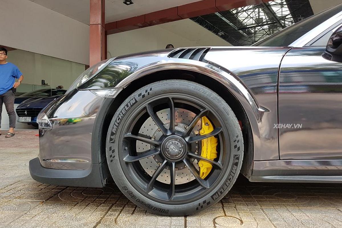 Sieu xe Porsche 911 GT3 RS hon 10 ty tren pho Sai Gon-Hinh-5