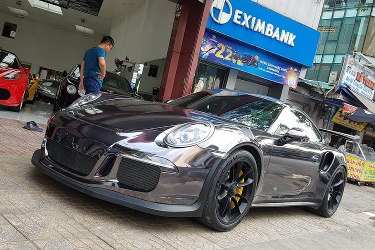 Sieu xe Porsche 911 GT3 RS hon 10 ty tren pho Sai Gon-Hinh-8