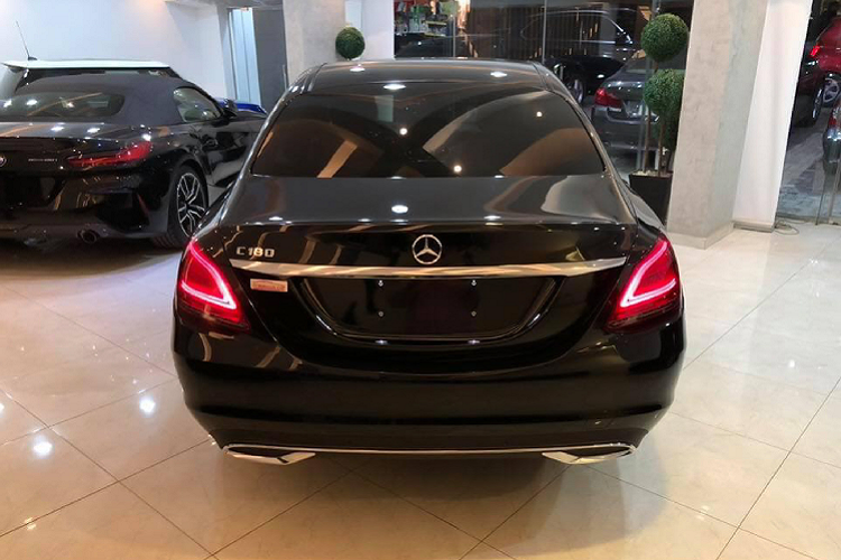 Mercedes-Benz C180 2020 sap ve Viet Nam khoang 1,3 ty dong-Hinh-6