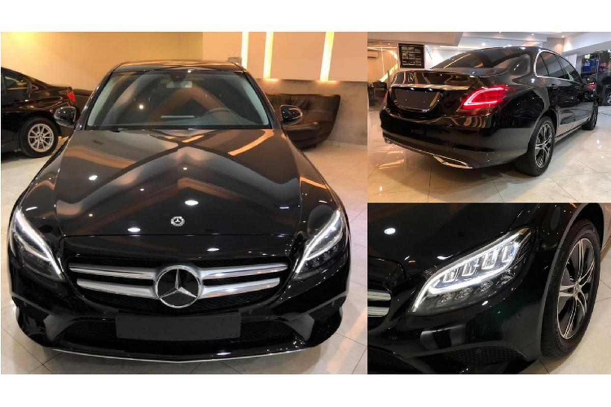 Mercedes-Benz C180 2020 sap ve Viet Nam khoang 1,3 ty dong