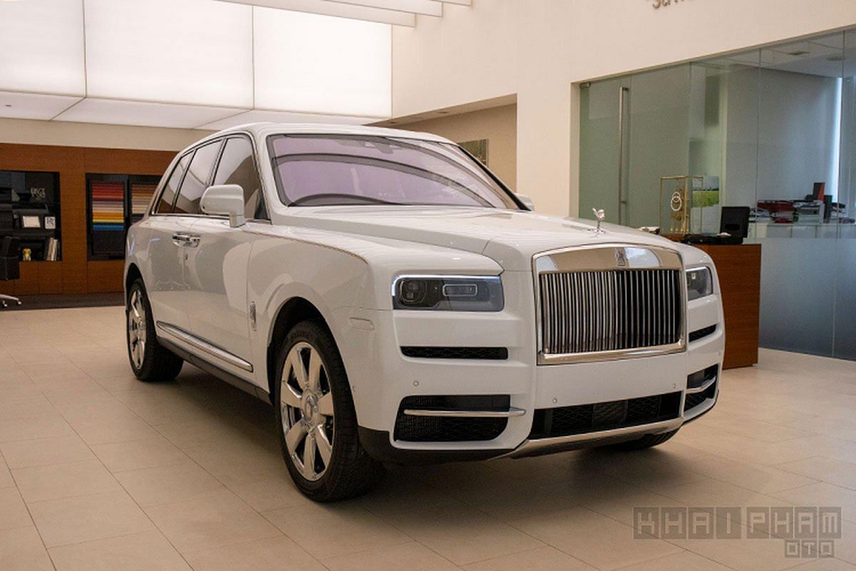 Can canh Rolls-Royce Cullinan hon 40 ty, chinh hang tai Viet Nam