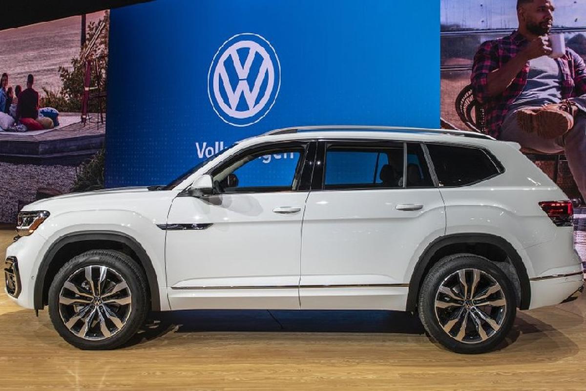 Volkswagen Atlas 2021 co du suc de doa Hyundai SantaFe?-Hinh-2