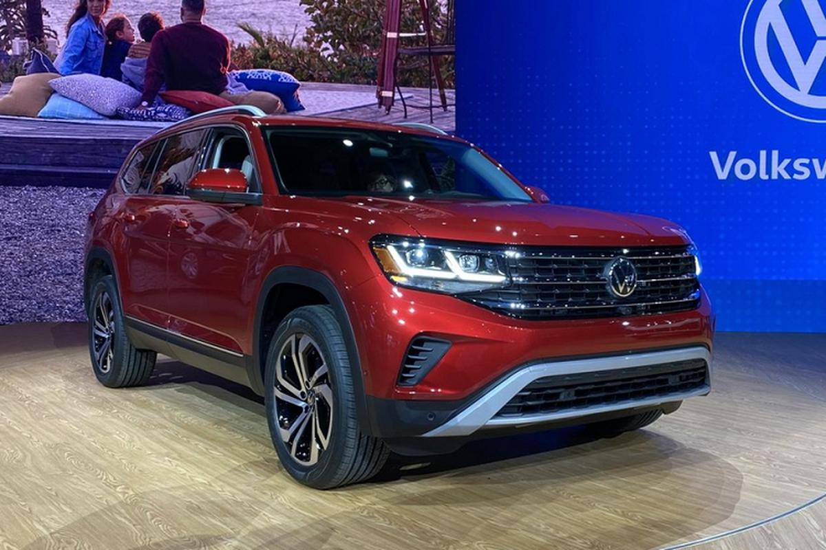Volkswagen Atlas 2021 co du suc de doa Hyundai SantaFe?