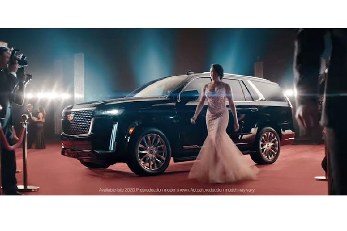 Cadillac Escalade 2021 day sang chanh tai Oscar 2020