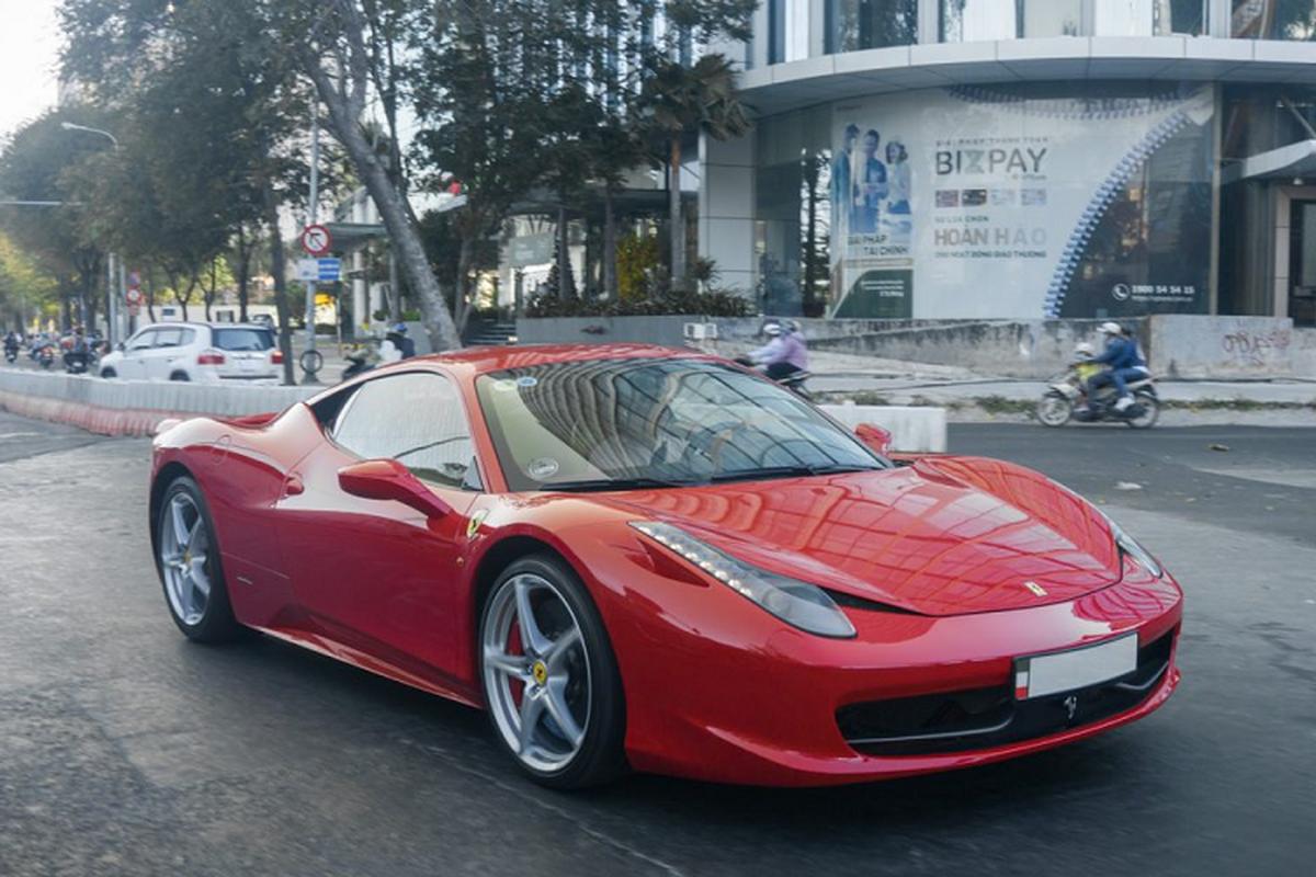 Sieu xe Ferrari 458 Italia tien ty tren pho Sai Gon-Hinh-8