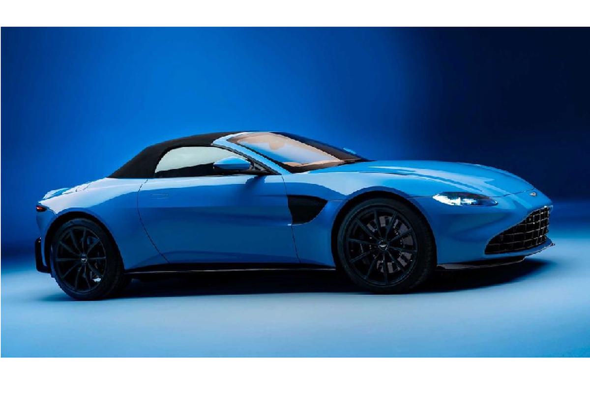 Aston Martin Vantage Roadster 2021 - sieu xe mui tran nhanh nhat-Hinh-2