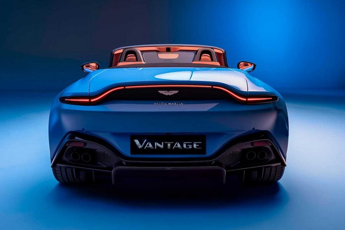 Aston Martin Vantage Roadster 2021 - sieu xe mui tran nhanh nhat-Hinh-3