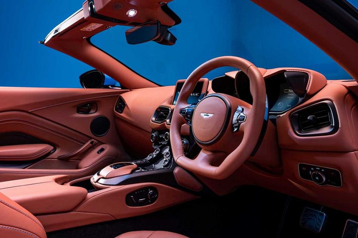 Aston Martin Vantage Roadster 2021 - sieu xe mui tran nhanh nhat-Hinh-5