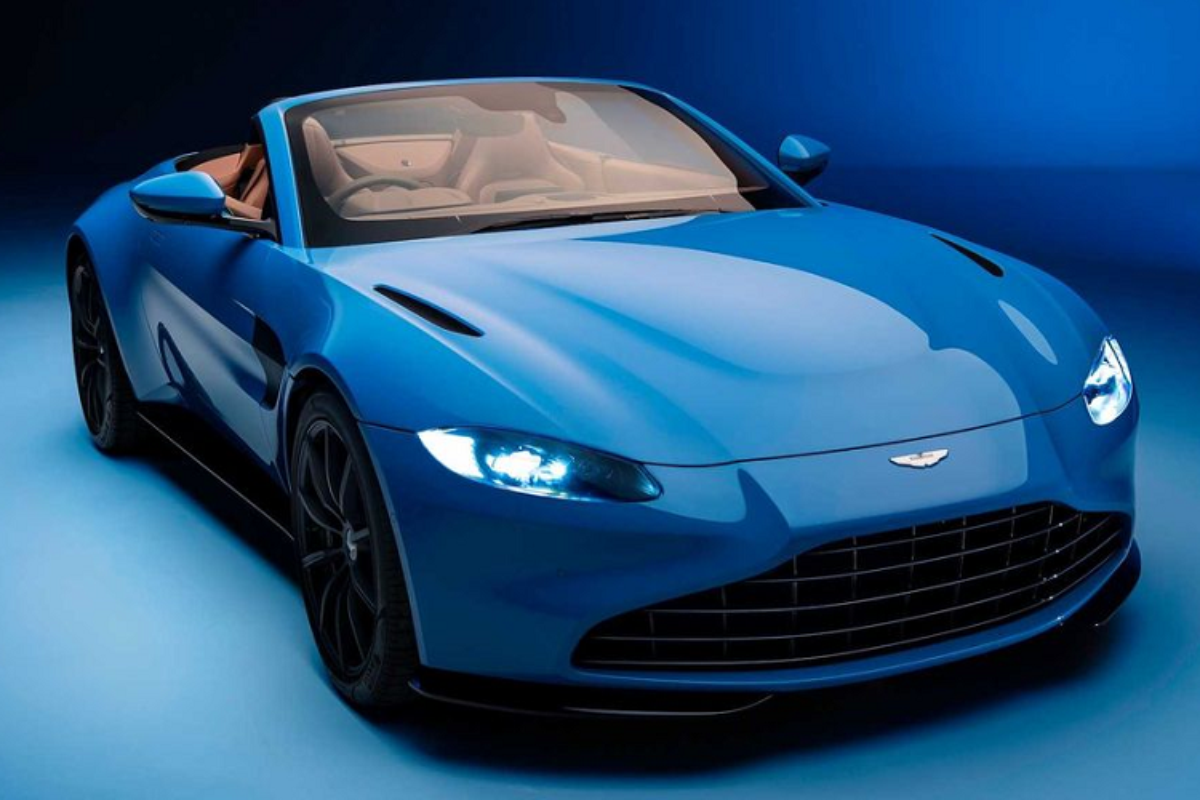 Aston Martin Vantage Roadster 2021 - sieu xe mui tran nhanh nhat