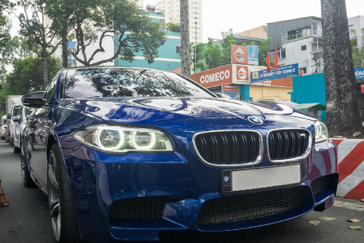 Chi tiet BMW M5 F10 doc nhat Viet Nam tren pho Sai Gon