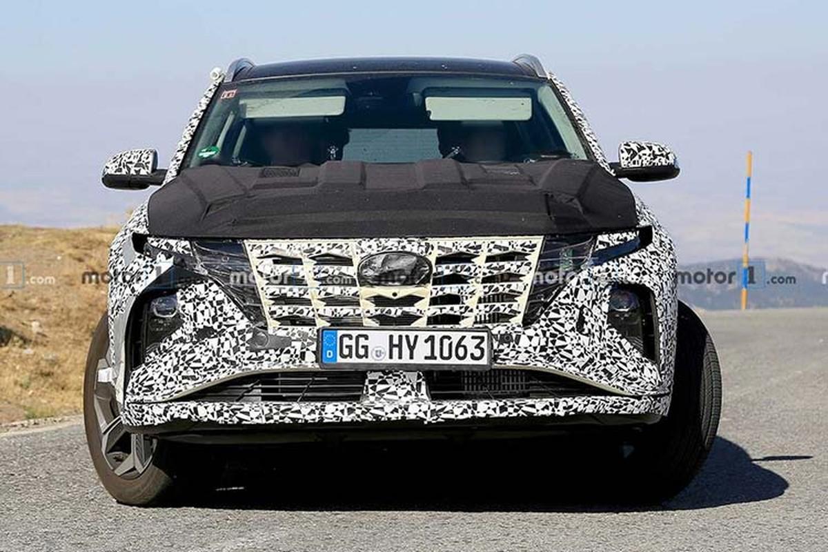 Hyundai SantaFe 2021 phien ban nang cap he lo ngoai hinh-Hinh-6