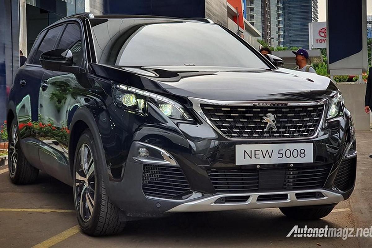 Peugeot 5008 va 3008 2020 phien ban gia re lo dien