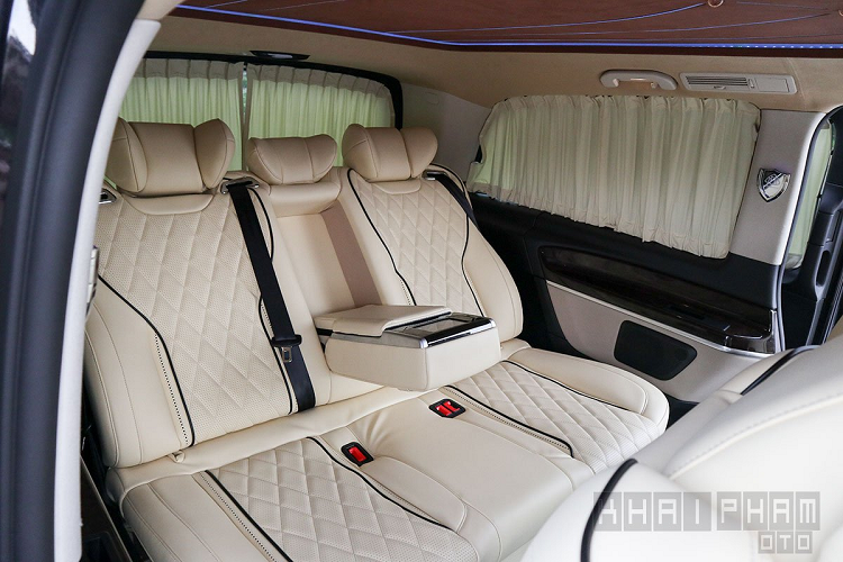 Chi tiet Mercedes-Benz V250 do Maybach hon 2 ty tai Ha thanh-Hinh-8