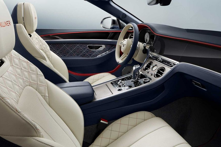 Chi tiet Bentley Continental GT Mulliner Convertible 2021 moi-Hinh-4