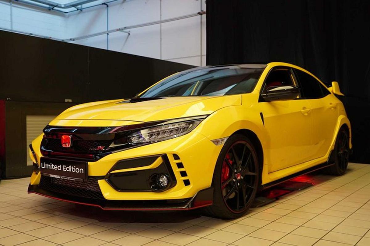 Vua sedan hang C – Honda Civic ra mat bien the Type R 2021-Hinh-2