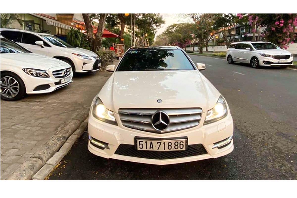 Can canh Mercedes-Benz C300 AMG Plus chi 860 trieu o Sai Gon-Hinh-8