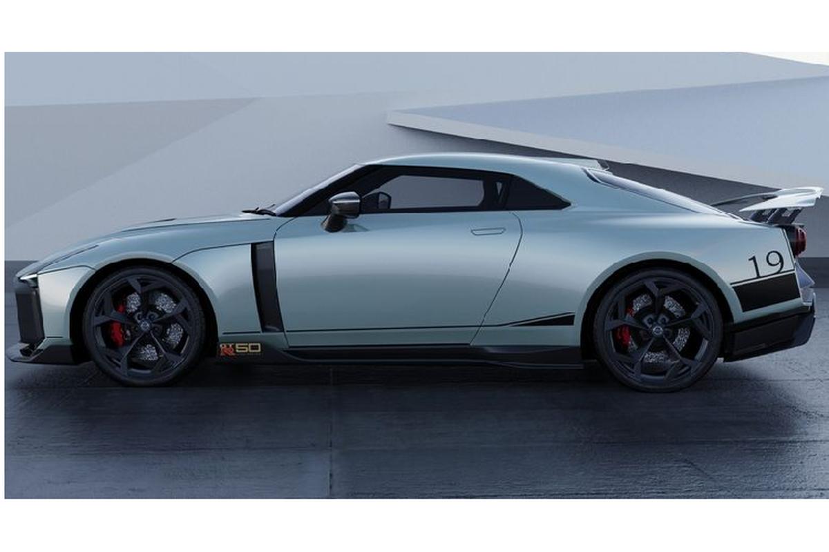 Sieu xe Nissan GT-R50 gan 25 ty dong chuan bi lo dien-Hinh-7