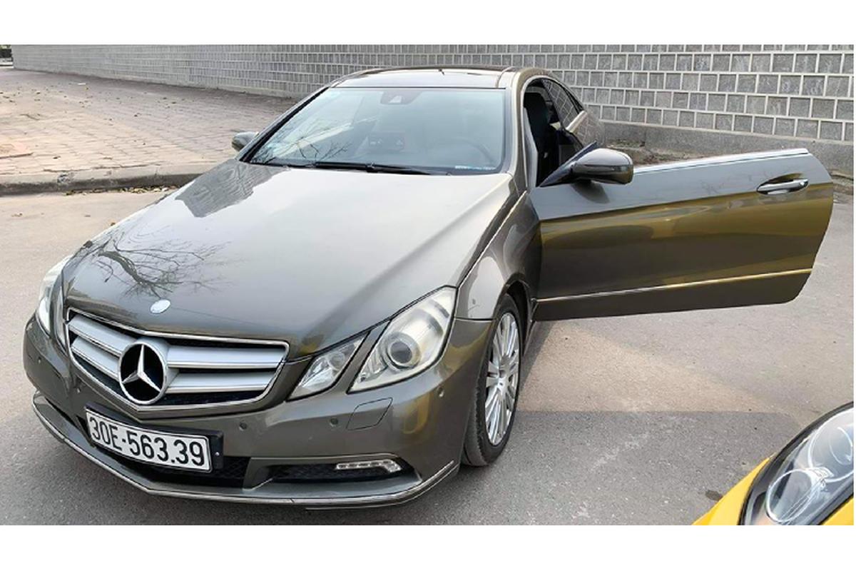 Mercedes-Benz E350 Coupe dung 10 nam, ban 860 trieu o Sai Gon-Hinh-4