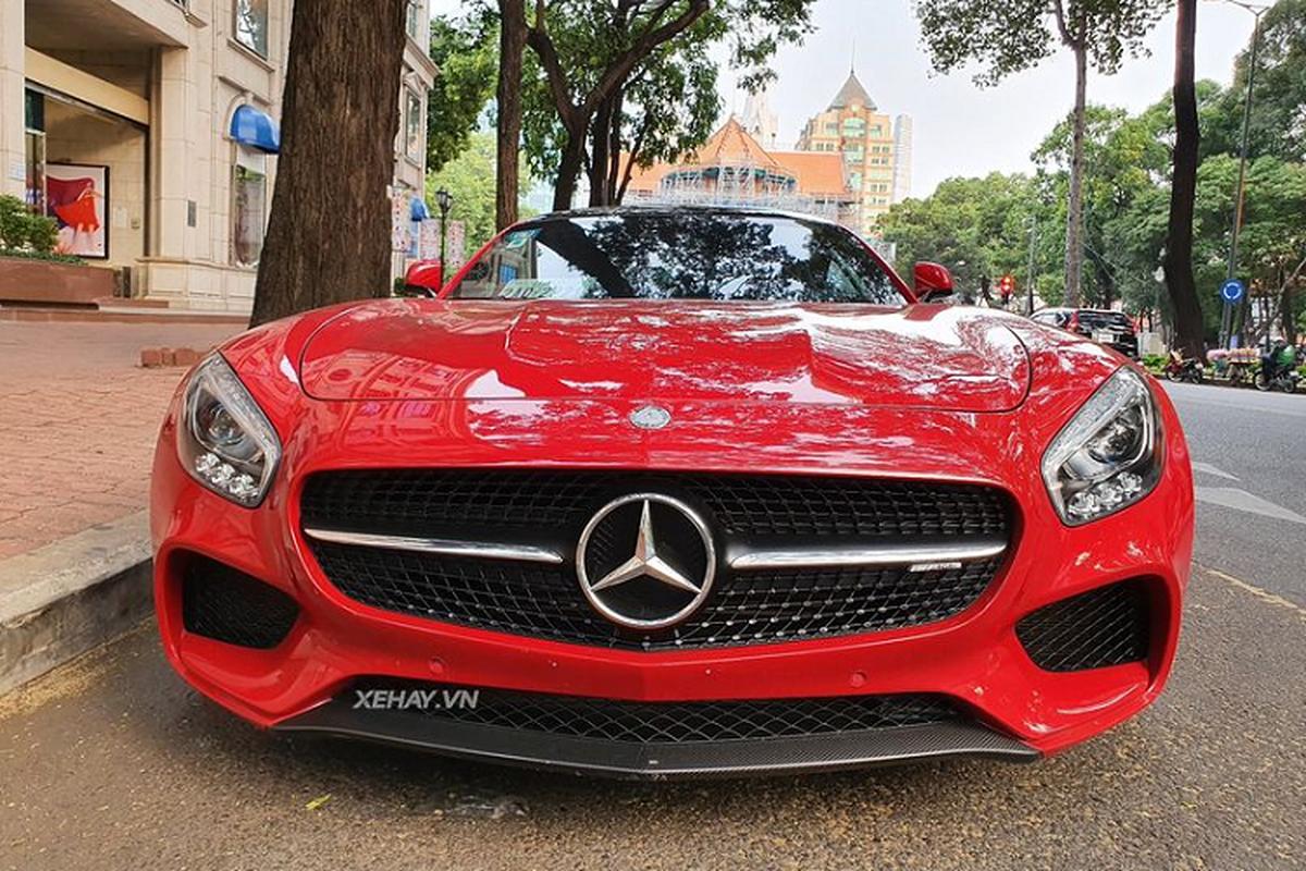 Sieu xe Mercedes-AMG GTS hon 9 ty lan banh o Sai Gon-Hinh-7