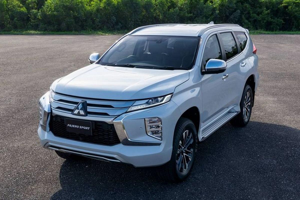 Mitsubishi Pajero Sport 2020 ve Viet Nam se bo dong co xang V6