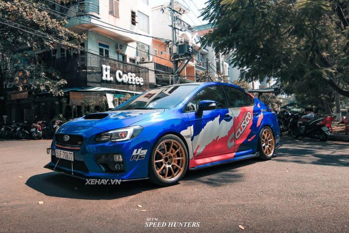"""""""Muc so thi"""" Subaru WRX STI do khung cua dan choi Sai Thanh"""