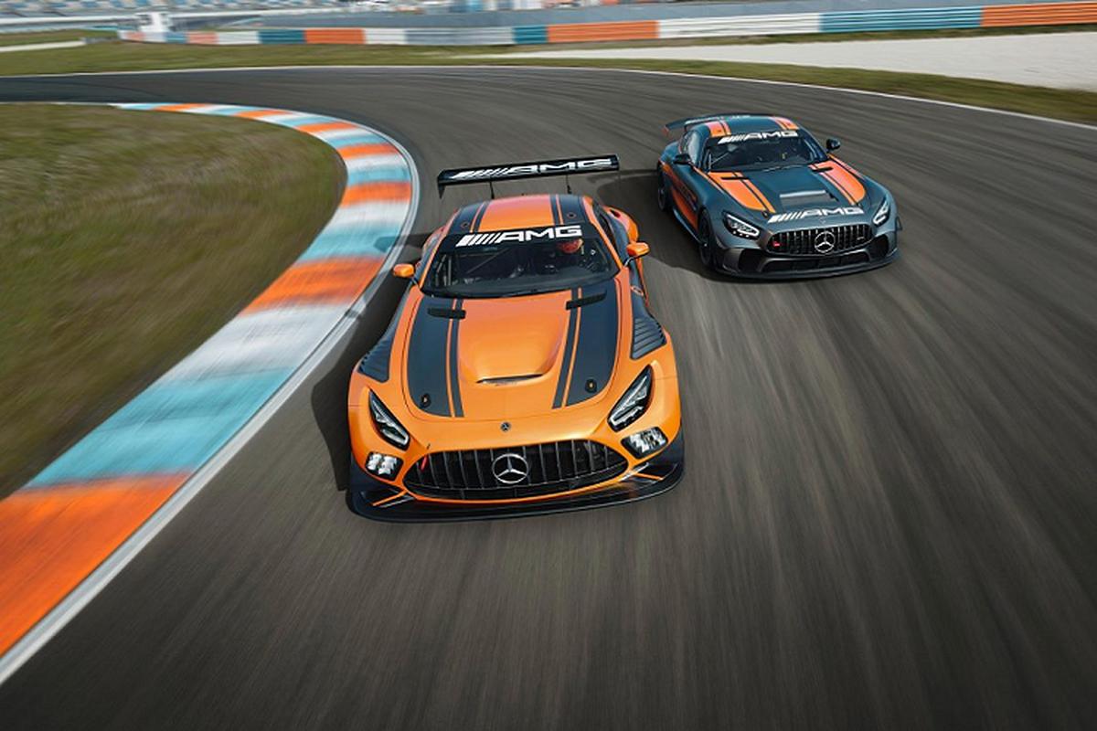Mercedes-AMG GT4 2020 - dien mao moi, hieu nang vuot troi-Hinh-3