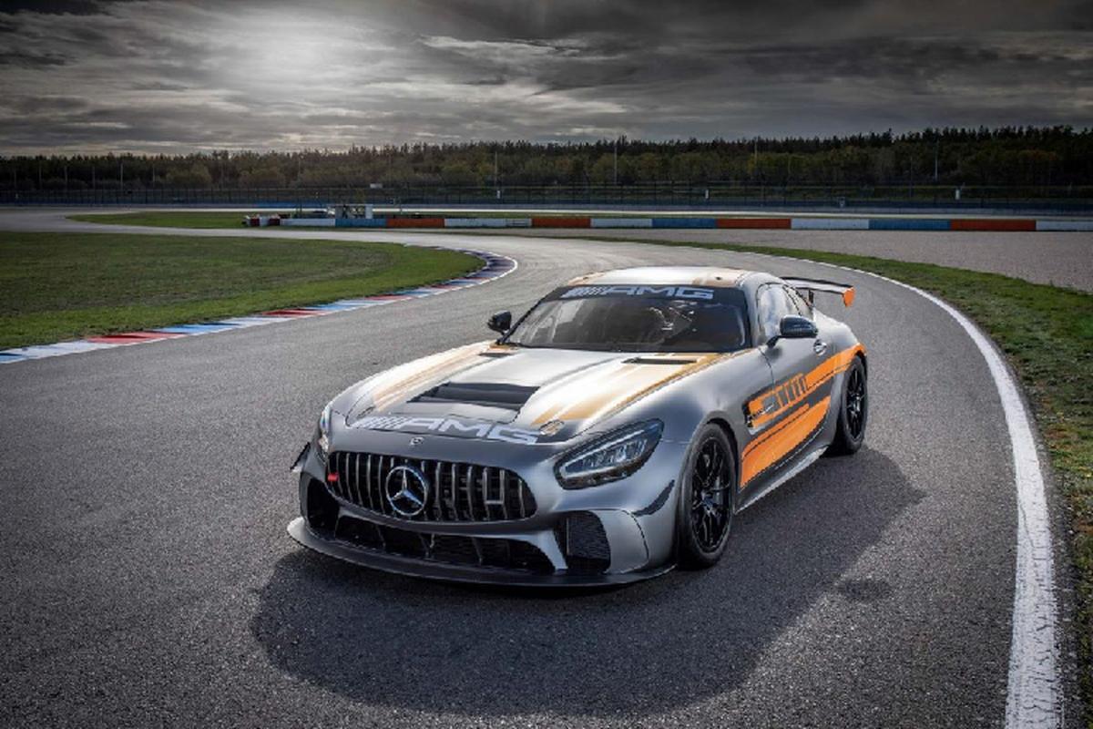 Mercedes-AMG GT4 2020 - dien mao moi, hieu nang vuot troi-Hinh-5